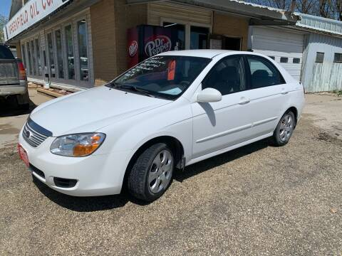 2007 Kia Spectra for sale at GREENFIELD AUTO SALES in Greenfield IA