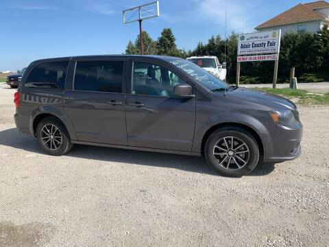 2019 Dodge Grand Caravan for sale at GREENFIELD AUTO SALES in Greenfield IA