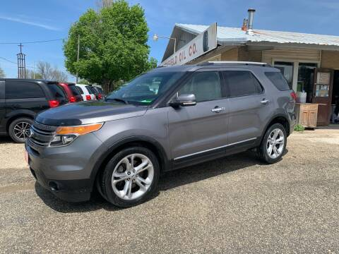 2014 Ford Explorer for sale at GREENFIELD AUTO SALES in Greenfield IA