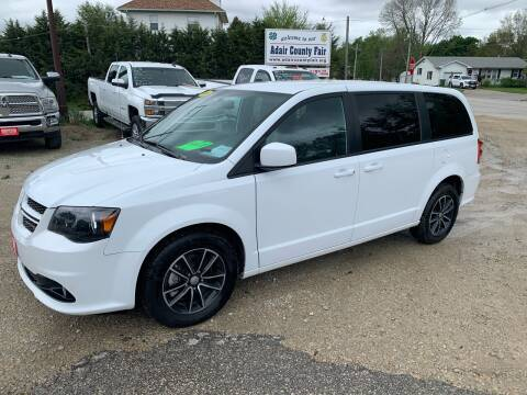 2018 Dodge Grand Caravan for sale at GREENFIELD AUTO SALES in Greenfield IA