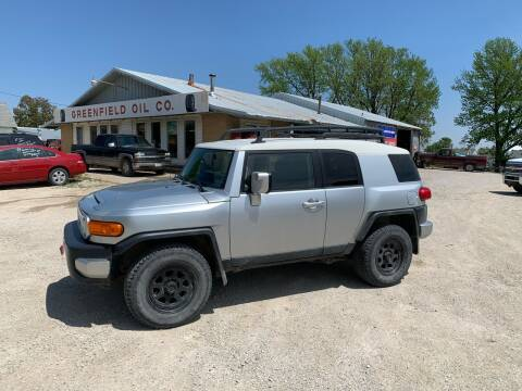 2007 Toyota FJ Cruiser for sale at GREENFIELD AUTO SALES in Greenfield IA