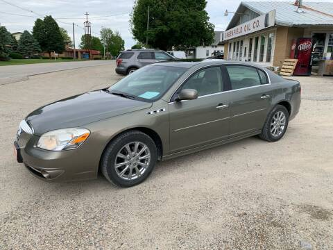 2011 Buick Lucerne for sale at GREENFIELD AUTO SALES in Greenfield IA
