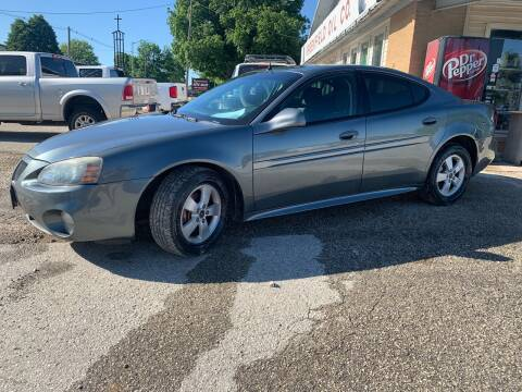 2005 Pontiac Grand Prix for sale at GREENFIELD AUTO SALES in Greenfield IA