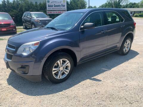 2013 Chevrolet Equinox for sale at GREENFIELD AUTO SALES in Greenfield IA