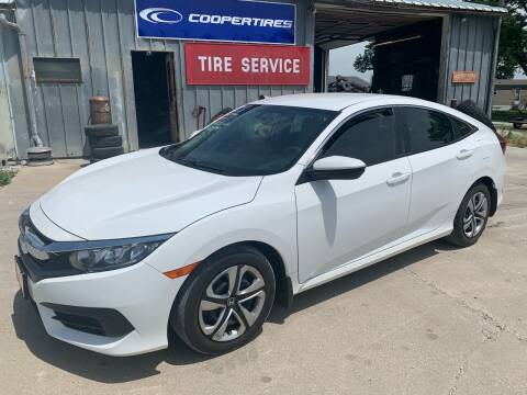 2017 Honda Civic for sale at GREENFIELD AUTO SALES in Greenfield IA