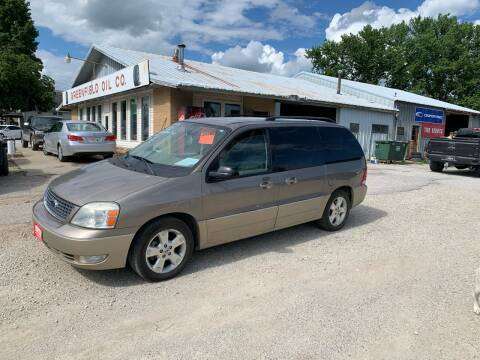 2005 Ford Freestar for sale at GREENFIELD AUTO SALES in Greenfield IA