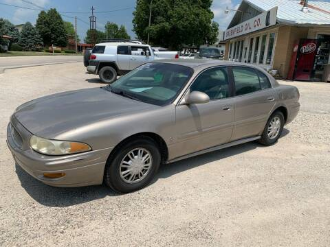 2002 Buick LeSabre for sale at GREENFIELD AUTO SALES in Greenfield IA