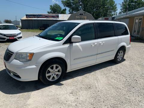2012 Chrysler Town and Country for sale at GREENFIELD AUTO SALES in Greenfield IA