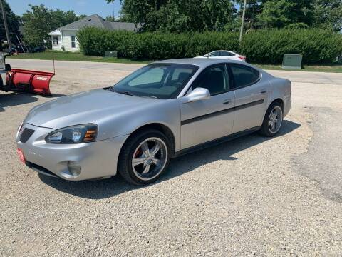 2004 Pontiac Grand Prix for sale at GREENFIELD AUTO SALES in Greenfield IA