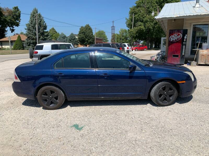 2007 Ford Fusion for sale at GREENFIELD AUTO SALES in Greenfield IA