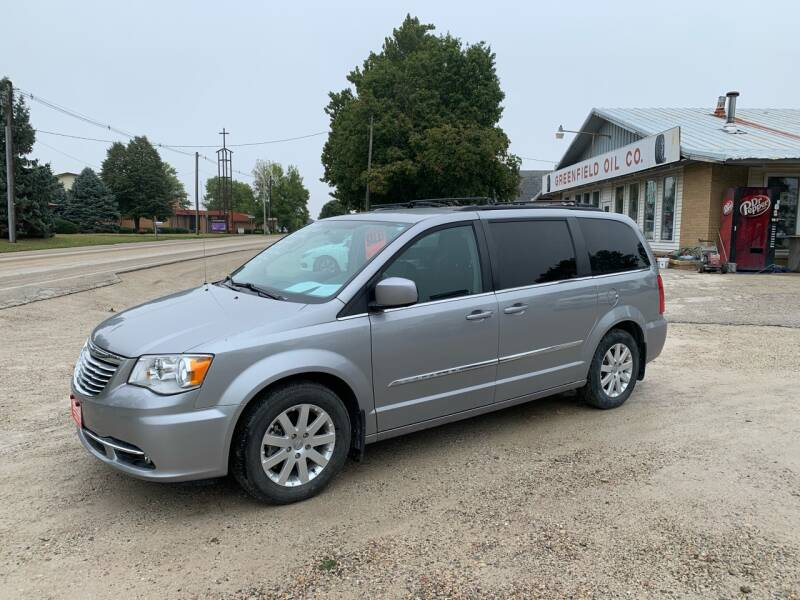 2016 Chrysler Town and Country for sale at GREENFIELD AUTO SALES in Greenfield IA