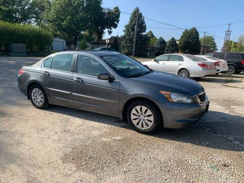 2010 Honda Accord for sale at GREENFIELD AUTO SALES in Greenfield IA