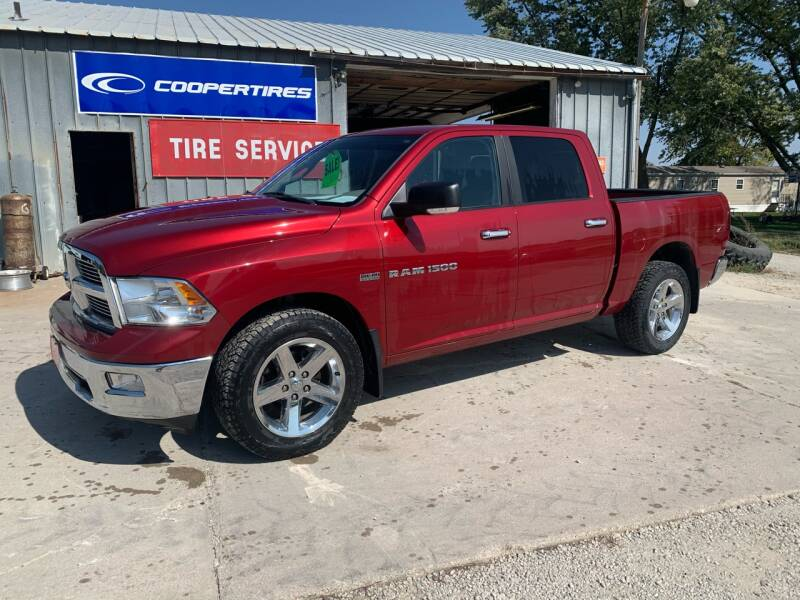 2011 RAM Ram Pickup 1500 for sale at GREENFIELD AUTO SALES in Greenfield IA