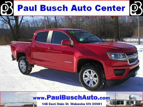 used 2018 chevrolet colorado for sale in minnesota. Black Bedroom Furniture Sets. Home Design Ideas