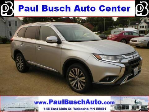 2019 Mitsubishi Outlander for sale at Paul Busch Auto Center Inc in Wabasha MN