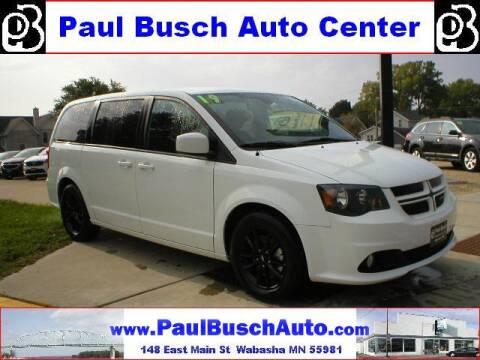 2019 Dodge Grand Caravan for sale at Paul Busch Auto Center Inc in Wabasha MN