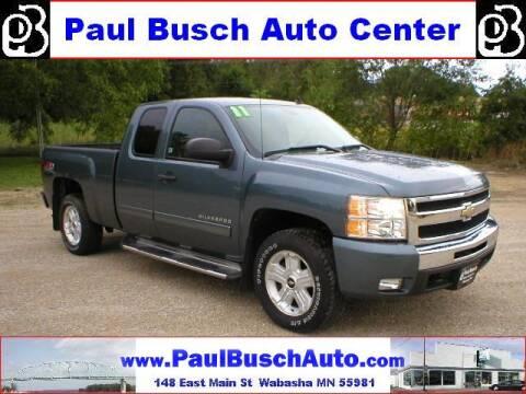 2011 Chevrolet Silverado 1500 for sale at Paul Busch Auto Center Inc in Wabasha MN