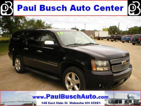 2010 Chevrolet Suburban for sale at Paul Busch Auto Center Inc in Wabasha MN
