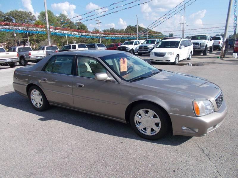 2001 Cadillac Deville Dts 4dr Sedan In Cullman Al Culpepper Auto Sales