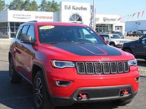 2017 Jeep Grand Cherokee for sale at Ed Koehn Chevrolet in Rockford MI