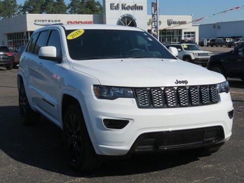 2018 Jeep Grand Cherokee for sale at Ed Koehn Chevrolet in Rockford MI