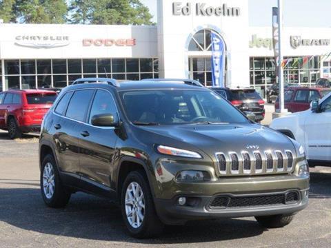 2015 Jeep Cherokee for sale at Ed Koehn Chevrolet in Rockford MI