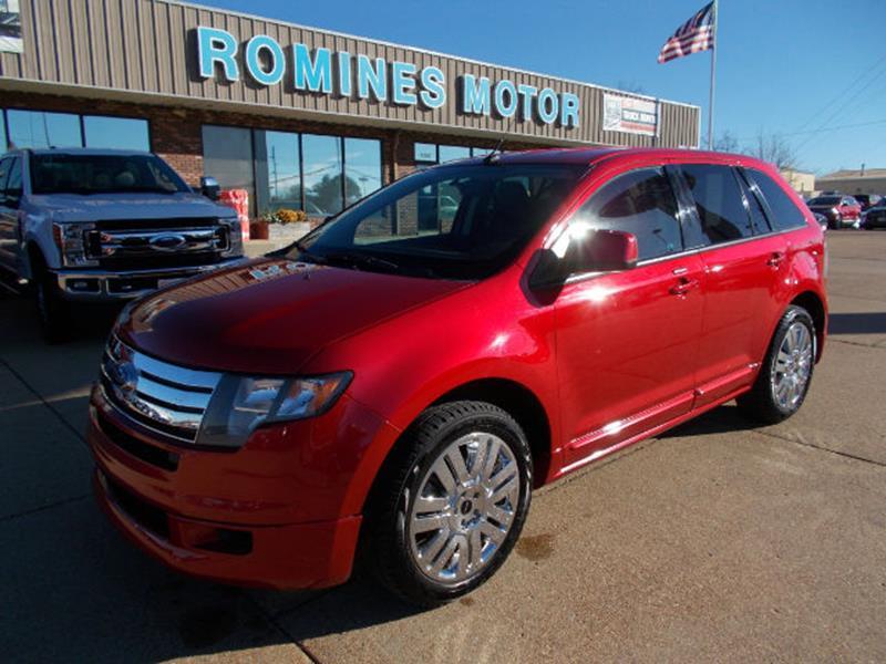2010 ford edge mpg