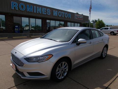 2017 Ford Fusion for sale in Houston, MO