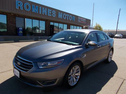 2013 Ford Taurus for sale in Houston, MO