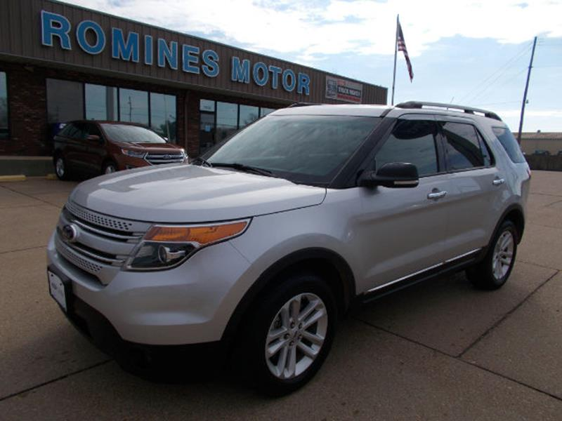 ford explorer kiss used car xlt