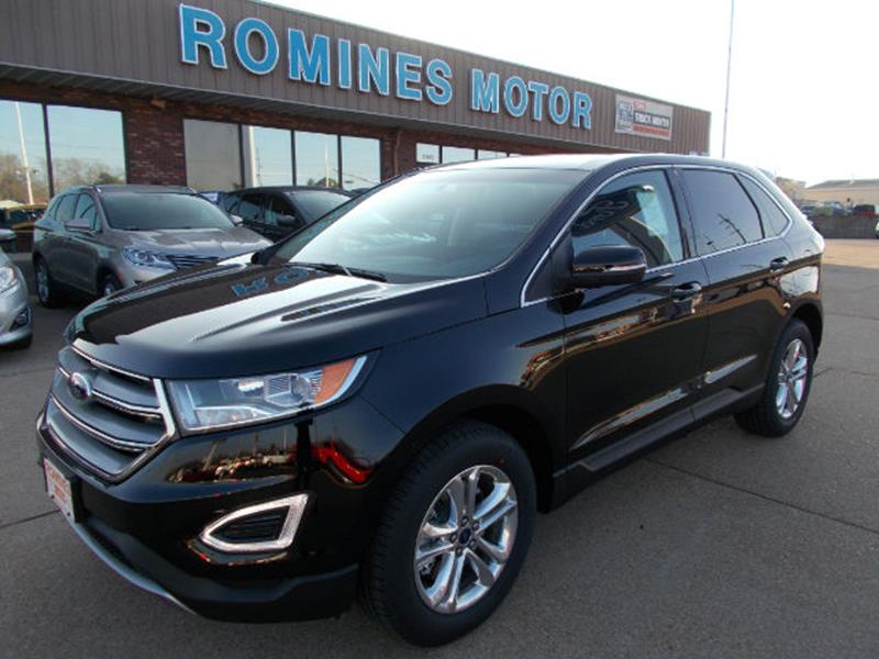 Ford Edge Awd Sel Dr Crossover Houston Mo