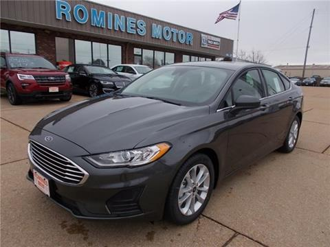 2019 Ford Fusion for sale in Houston, MO