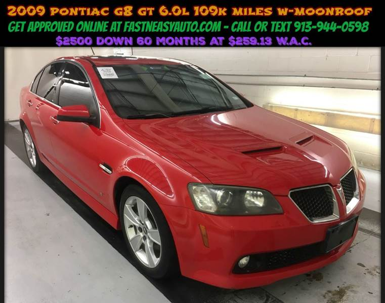 2008 Pontiac G8 Gt 4dr Sedan In Fast N Easy Auto