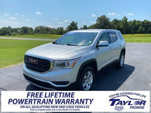 2018 GMC Acadia for sale at Taylor Automotive in Martin TN