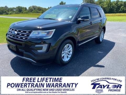 2017 Ford Explorer for sale at Taylor Automotive in Martin TN