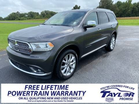 2019 Dodge Durango for sale at Taylor Automotive in Martin TN