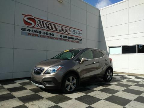 Car Dealerships Erie Pa >> 2014 Buick Encore For Sale In Erie Pa