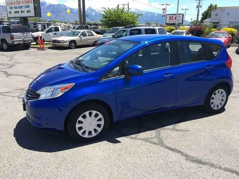 2014 Nissan Versa Note S 4dr Hatchback - Salt Lake City UT