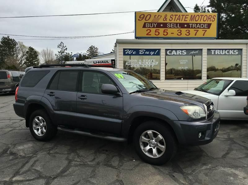 2009 Toyota 4runner Sport Edition 4x4 4dr Suv 4 7l V8 In Salt Lake