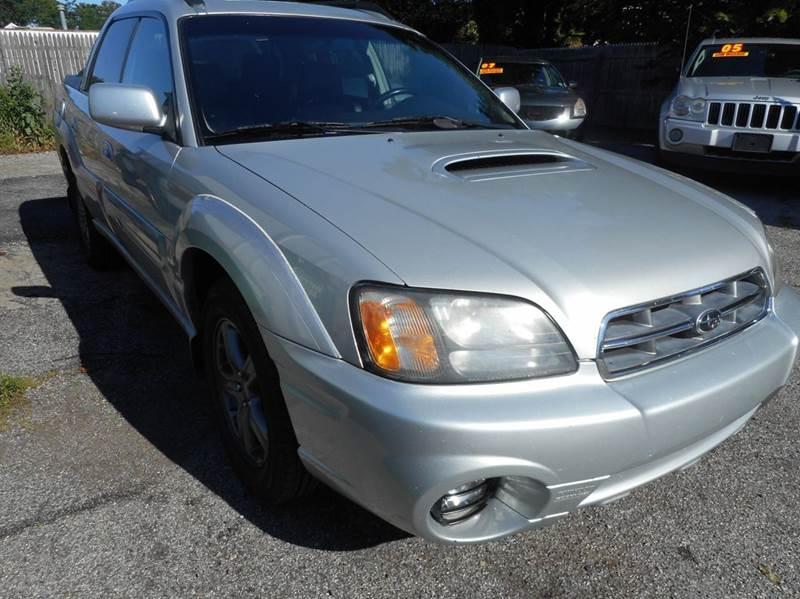 2005 Subaru Baja AWD 4dr Turbo Crew Cab SB - Amityville NY