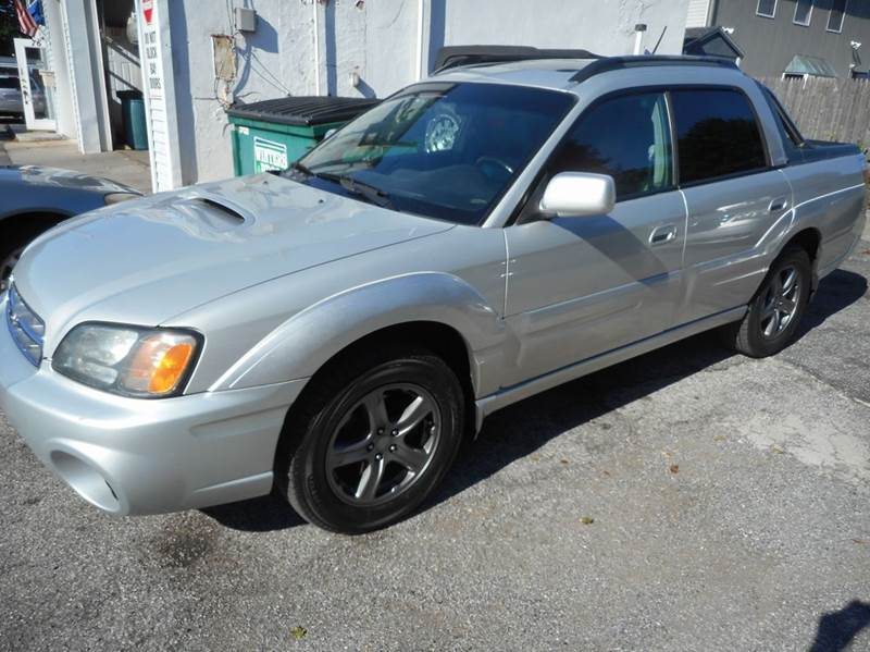 2006 subaru baja awd sport 4dr crew cab sb 25l h4 4a in 10995 sciox Image collections