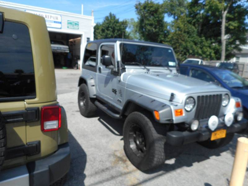 2004 Jeep Wrangler Unlimited 4WD 2dr SUV - Amityville NY