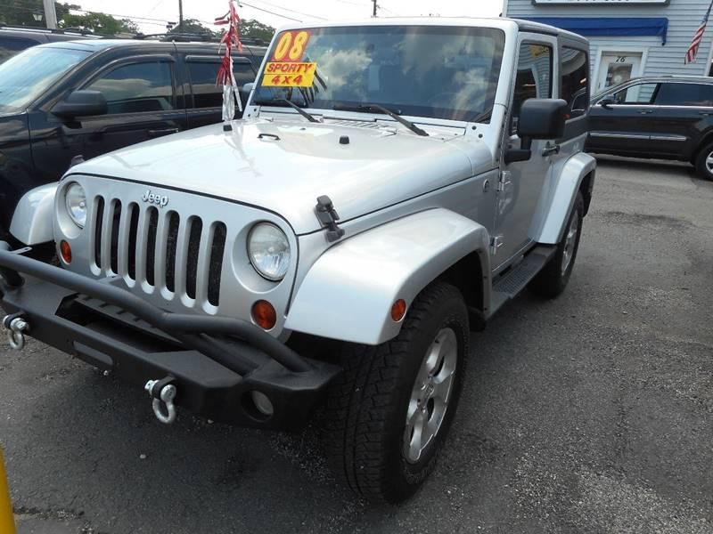 2008 Jeep Wrangler For Sale At Amity Bay Auto Sales In Amityville NY