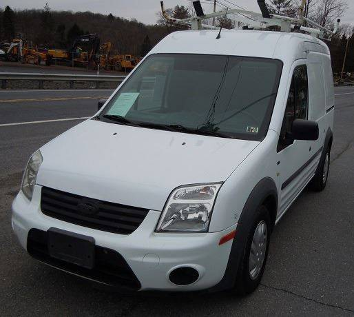 2013 Ford Transit Connect Xl 4dr Cargo Mini Van W Rear: 2011 Ford Transit Connect XLT 4dr Cargo Mini-Van W/o Side