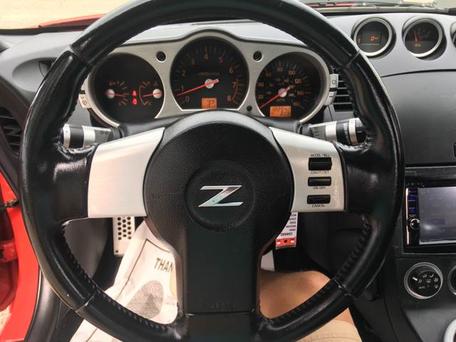 2004 Nissan 350z Enthusiast 2dr Coupe In Raleigh Nc Cardinal Auto