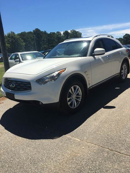 2010 Infiniti Fx35 Awd 4dr Suv In Raleigh Nc Cardinal Auto Sales