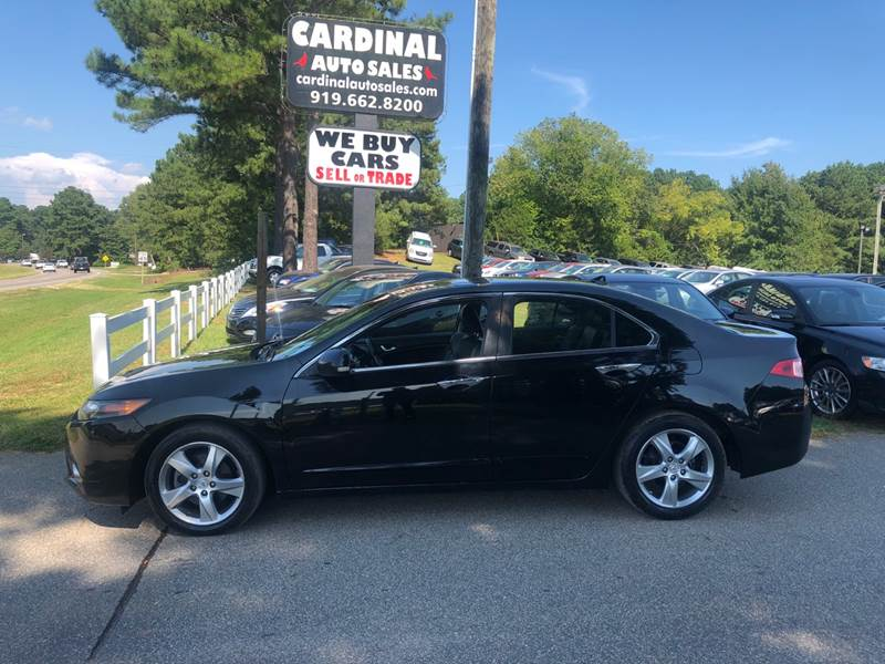 Acura Tsx Dr Sedan A In Raleigh NC Cardinal Auto Sales - Acura tsx for sale in nc