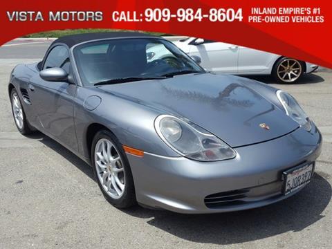 2004 Porsche Boxster for sale in Ontario, CA