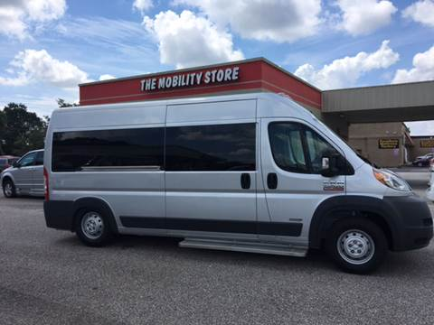 2017 RAM ProMaster Window for sale at The Mobility Van Store in Lakeland FL