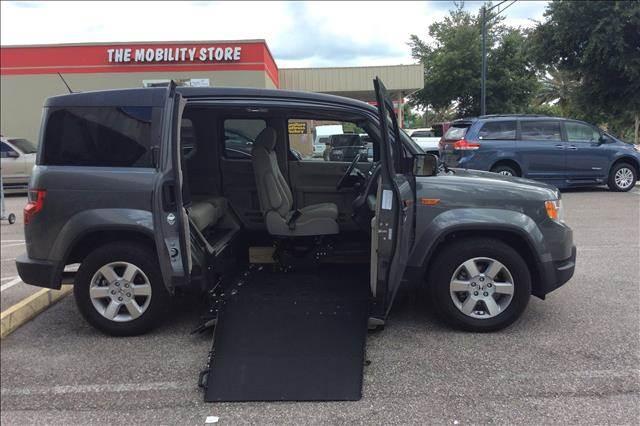 2011 Honda Element EX 4dr SUV Wheelchair Ramp Conversion   Lakeland FL